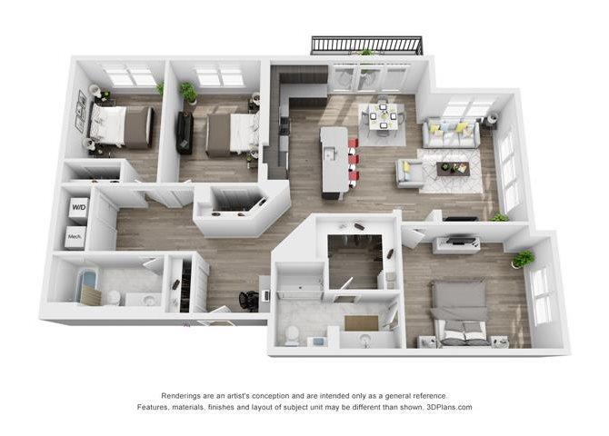 Hamilton Floor Plan 8