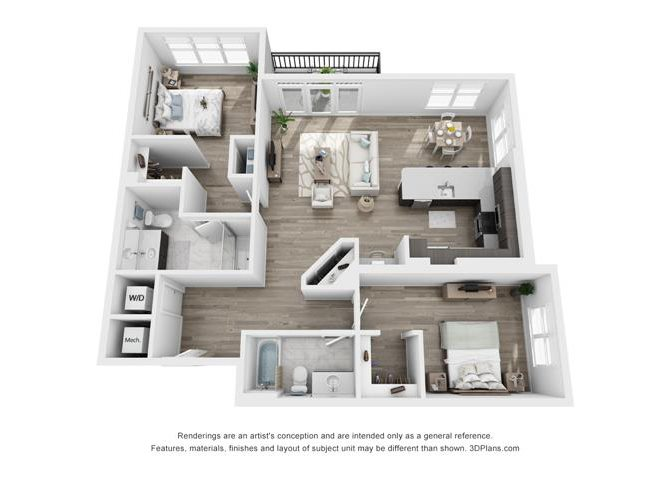 Pierce Floor Plan 7