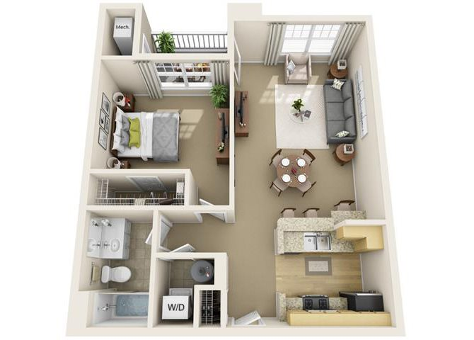 Newbury Floor Plan 2