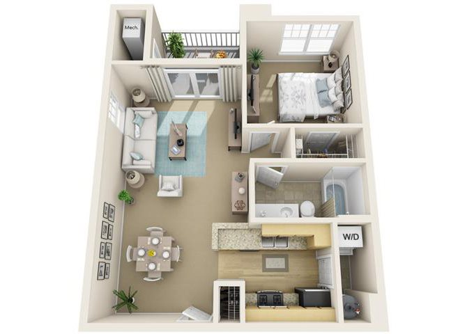 Union Floor Plan 4