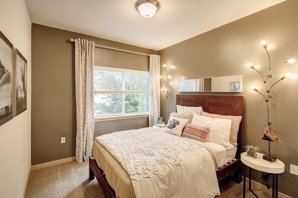 Live in Cozy Bedrooms, at Newberry Square Apartment Homes, WA, 98087