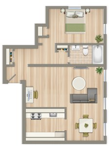 700-Square-Foot-One-Bedroom-Floorplan-Available-For-Rent-4031-Davis-Place