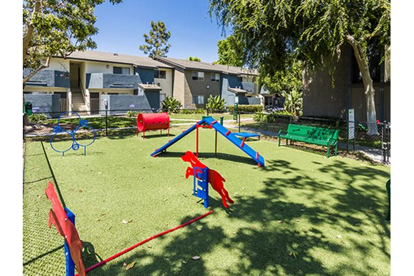 Playing Area at Waterleaf Apartment Homes, 333 North Emerald Drive, CA
