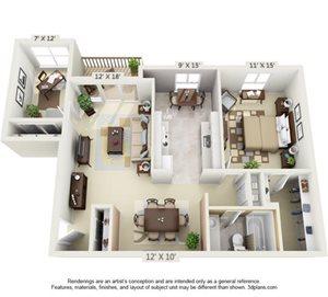 1 Bedroom Victoria