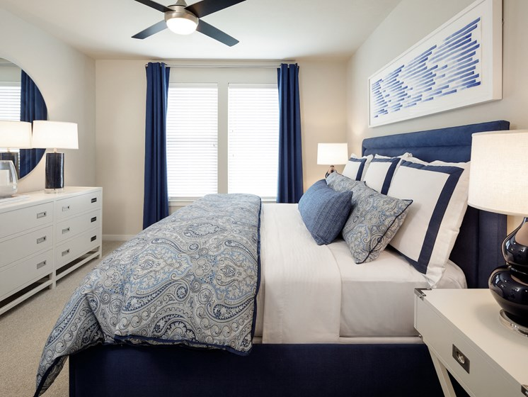 Large Bed at Tradehouse at Bulverde Marketplace, Texas, 78247