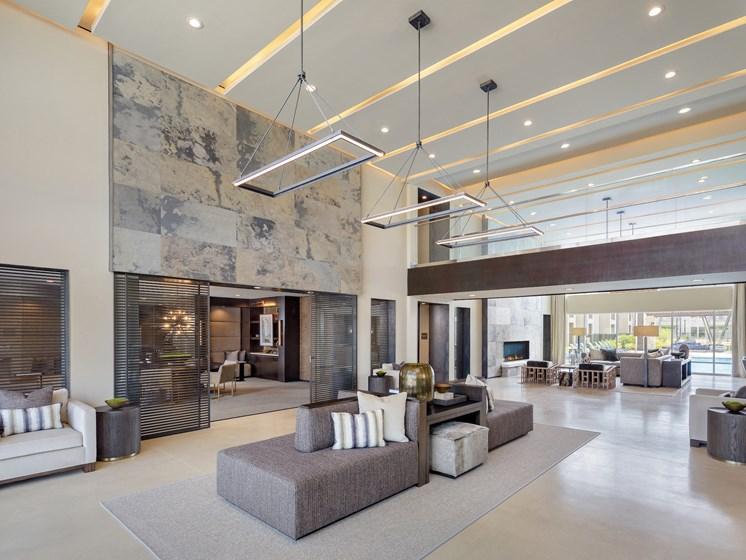 Posh Resident Lounge at Tradehouse at Bulverde Marketplace, San Antonio, TX, 78247