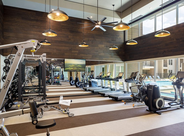 Cardio Equipment at Tradehouse at Bulverde Marketplace, San Antonio, TX, 78247