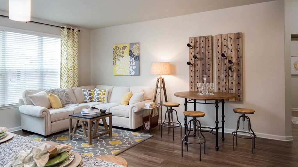 Designer Lighting Package at Abberly Market Point Apartment Homes by HHHunt, Greenville, 29607