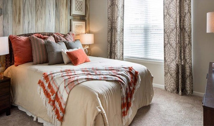 Well Decorated Bedroom at Abberly Market Point Apartment Homes, South Carolina