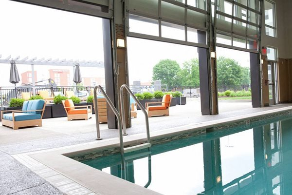 Bakery Living Indoor Outdoor Pool, apartments in Pittsburgh, Pennsylvania