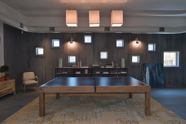 Bakery Living Ping Pong, apartments in Pittsburgh, Pennsylvania