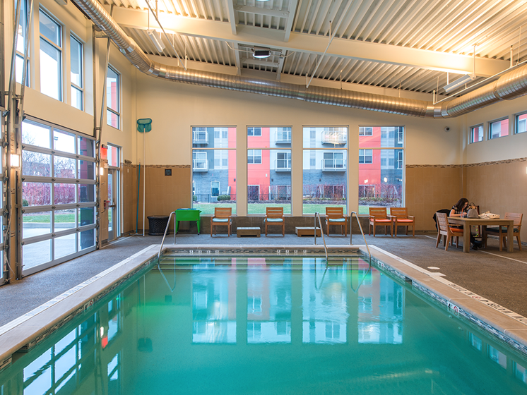 Bakery Living Pool, apartments in Shadyside Neighborhood, Pittsburgh, PA 15206