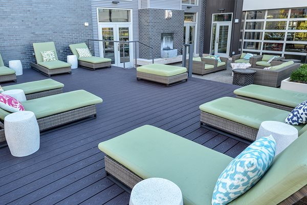 Sundeck and Patio