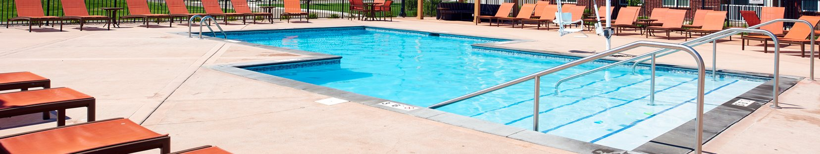 Swimming Pool at Skye at Arbor Lakes Apartments in Maple Grove, MN