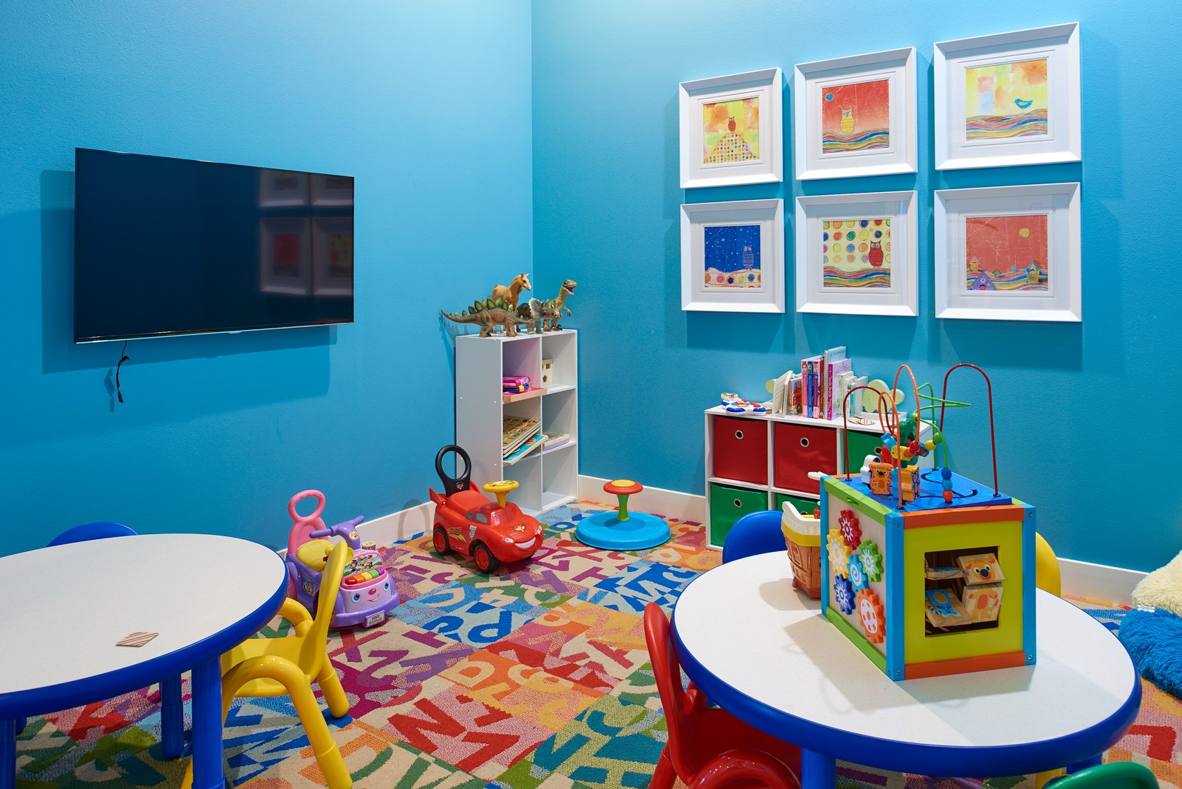 Kids Play Room at Skye at Arbor Lakes Apartments in Maple Grove, MN