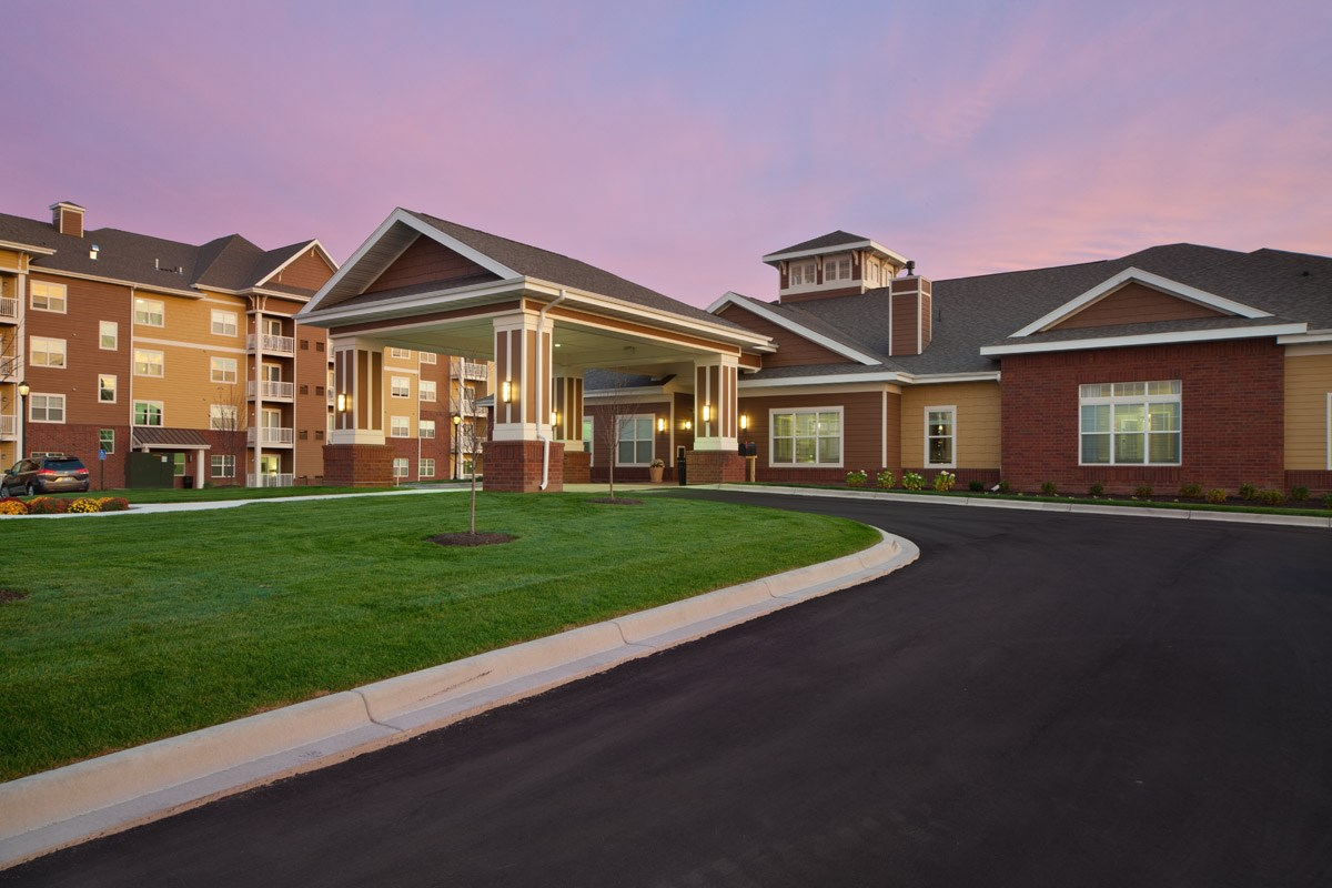Exterior at Skye at Arbor Lakes Apartments in Maple Grove, MN