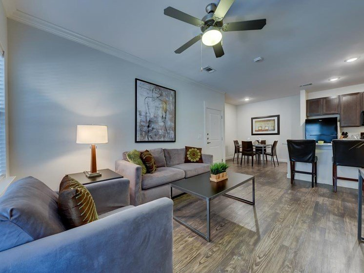 Spacious Living Area at The Sage in New Braunfels, TX