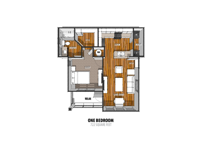 Floor Plan at The Sage, New Braunfels, TX 78130