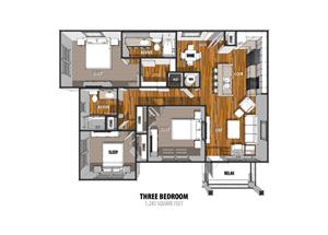 Floor Plan at The Sage, New Braunfels, 78130