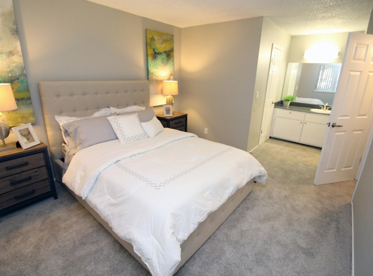 Apartments in Sacarmento, CA - The Vue Bedroom