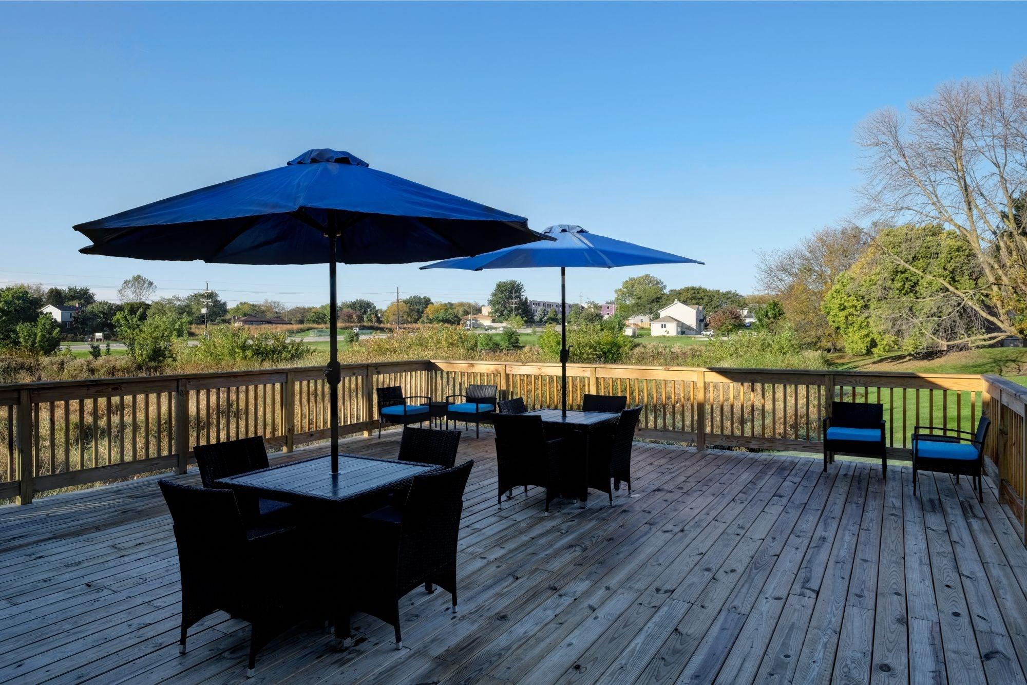 Resident Grilling Area, at Eagle Creek Apartments, Illinois, 60559
