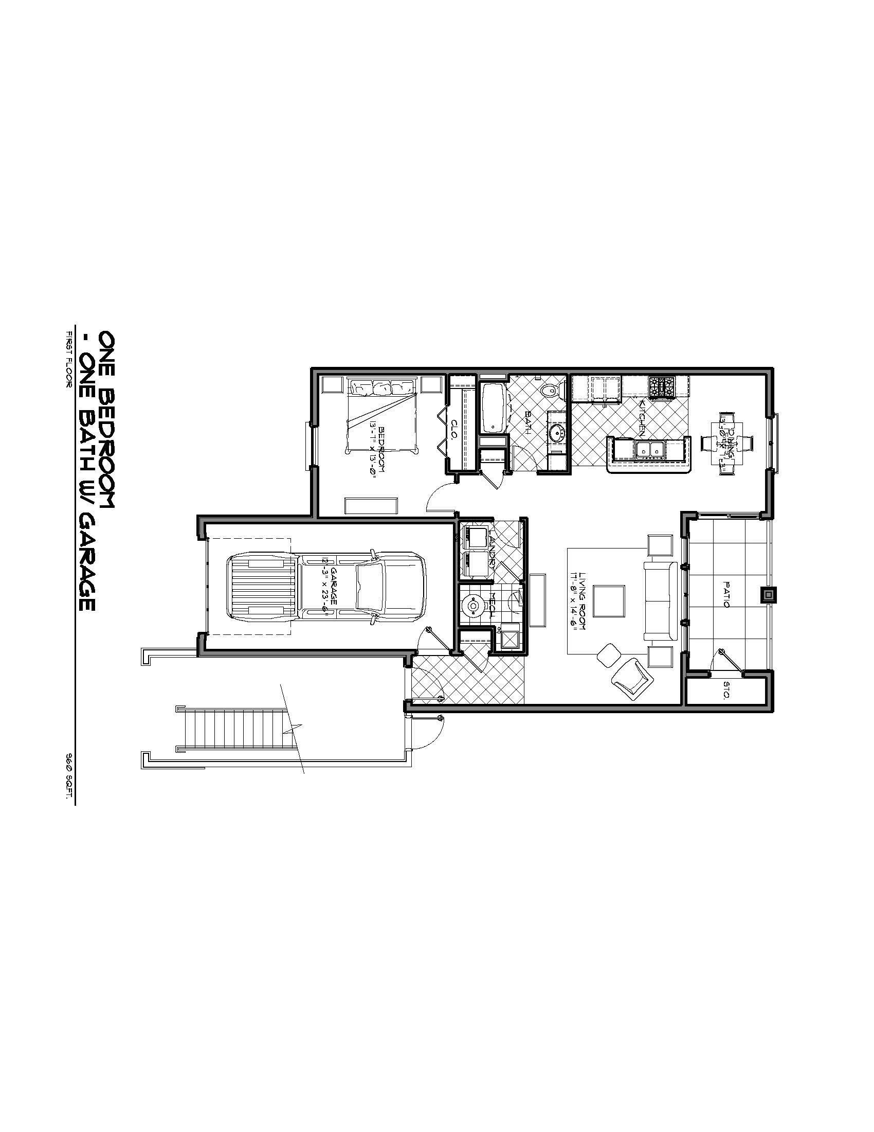 The Sole Floor Plan 1