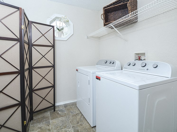 washer dryer connections each apartment