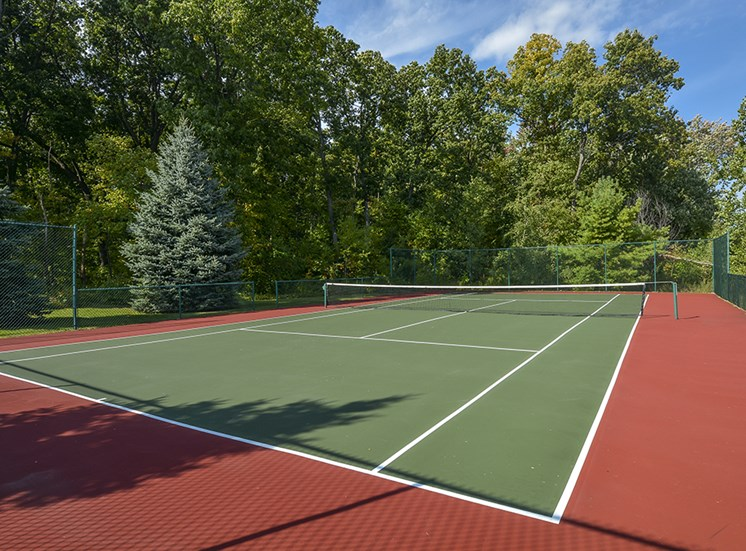 tennis court apartment amenity