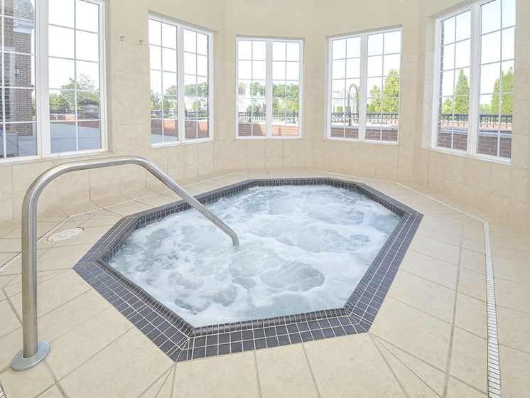 Indoor Hot Tub Whirlpool