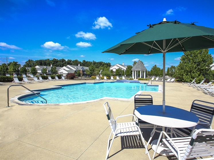Large Swimming Pool with Expansive Sundeck
