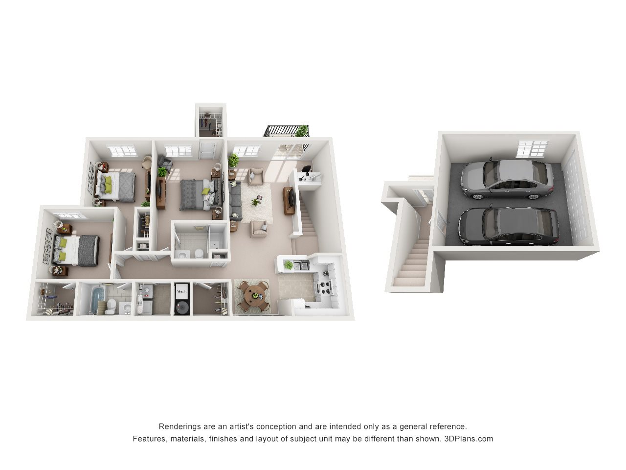 3 Bedroom B Floor Plan 5