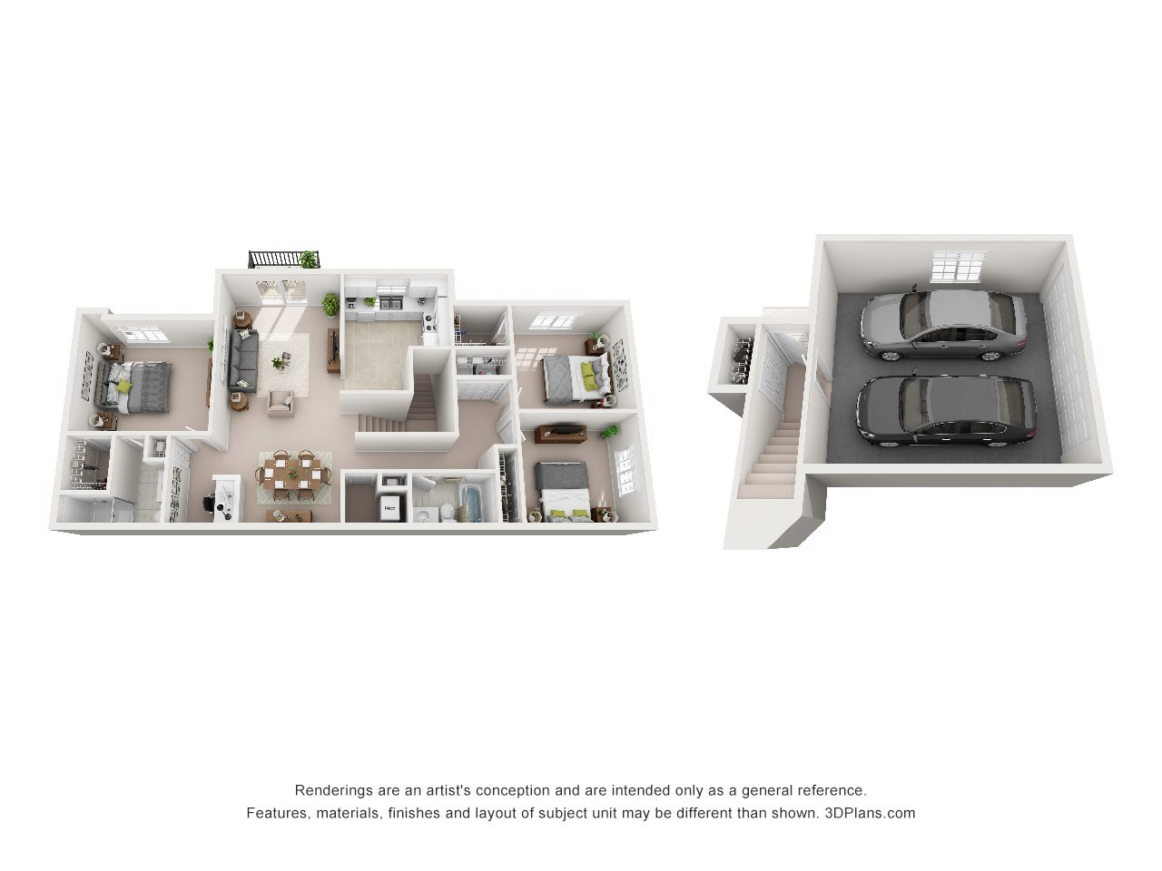 3 Bedroom C Floor Plan 6