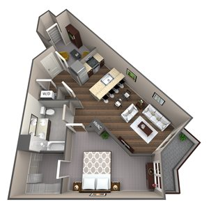 Apartment Type 1D