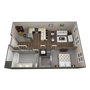 Apartment Type 1G