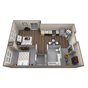 Apartment Type 1H