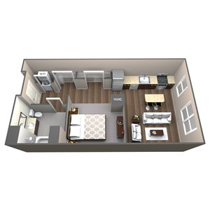 Apartment Type 1K