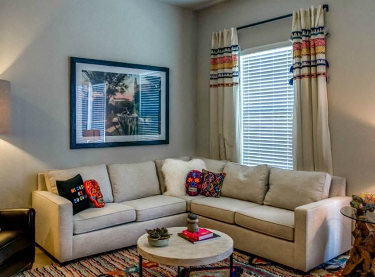 living room downtown san antonio apartments