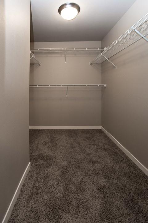 Closet, walk in closet