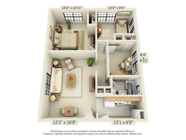Floor Plans Of Tivoli Park Apartments In Albany Ny