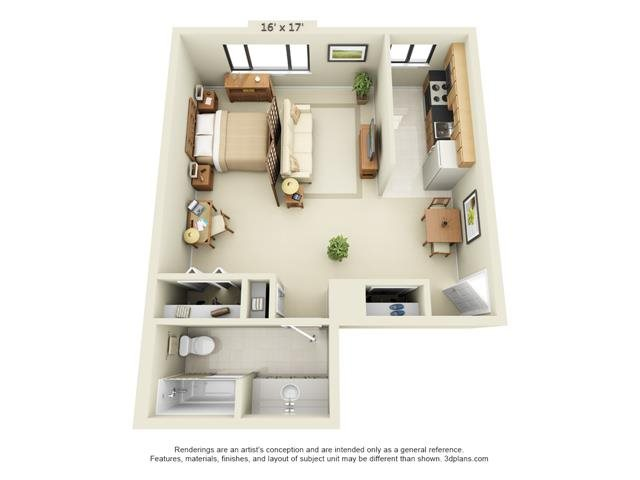 Floor Plans of Imperial South