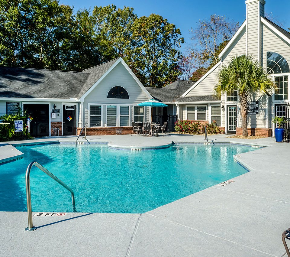Outdoor Swimming Pool at Palmetto Grove, Charleston, SC