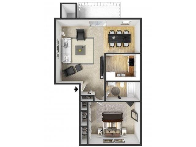 Floor Plans Of Windridge Apartments In Grand Rapids Mi