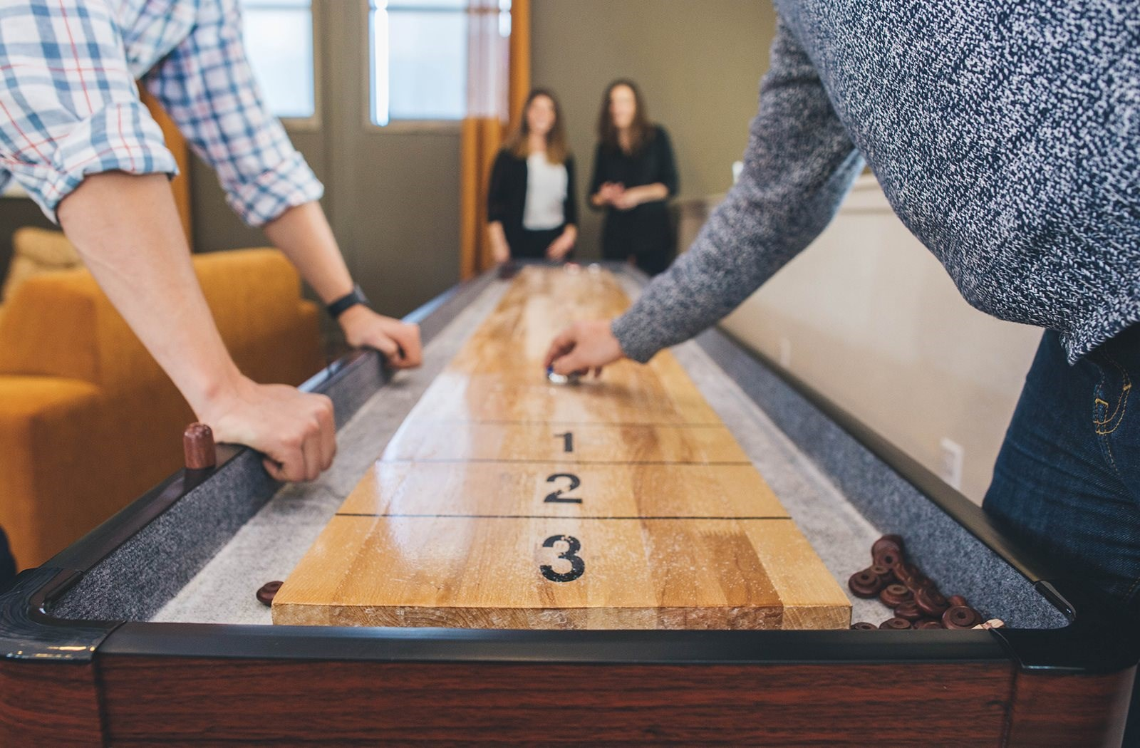 Shuffle Board at Union West Apartments in Lakewood, CO
