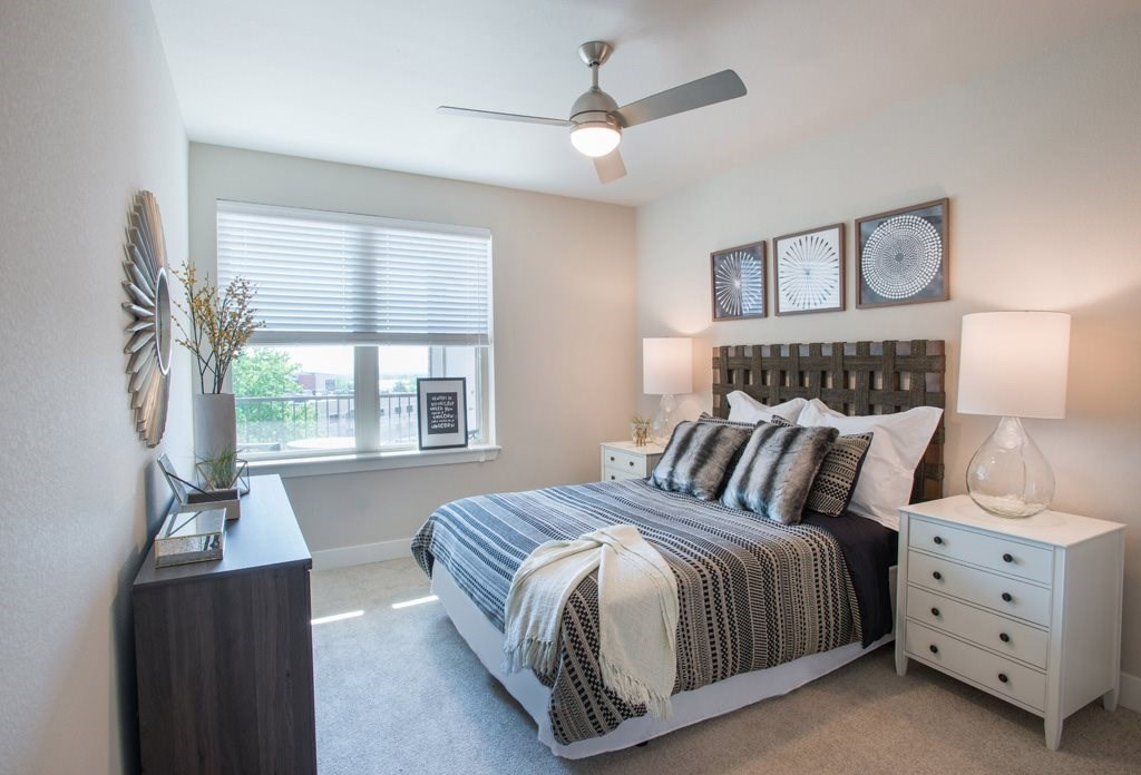 Bedroom at Union West Apartments in Lakewood, CO