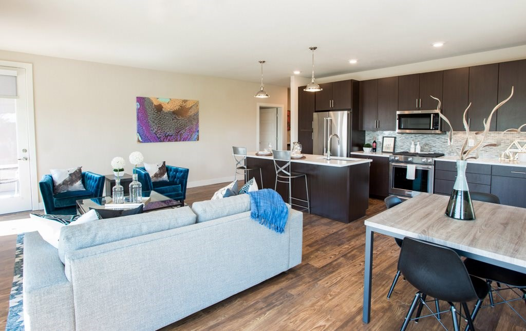 Open Floor Plans at Union West Apartments in Lakewood, CO