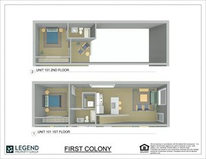 First Colony Flats Unit 101