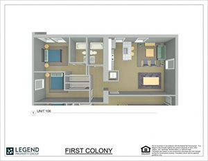 First Colony Flats Unit 106