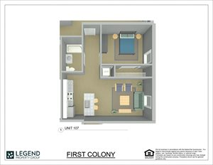 First Colony Flats Unit 107