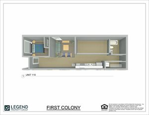 First Colony Flats Unit 110