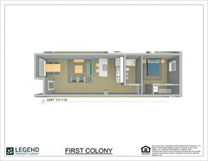 First Colony Flats Unit 111
